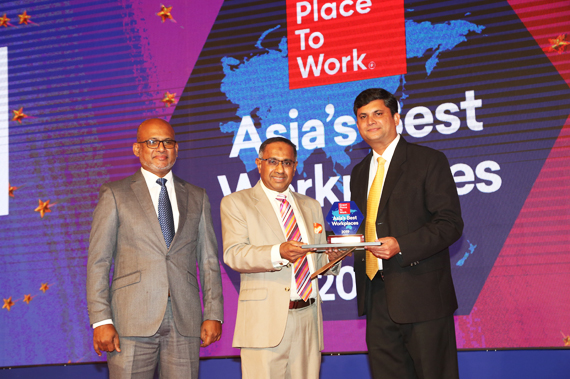 Ex-pack Recognized as one of the Asia's Best Workplaces